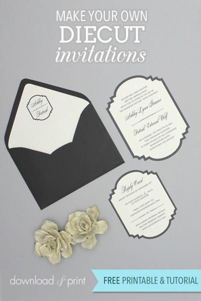 Maak zelf uitnodigingen met gratis printables