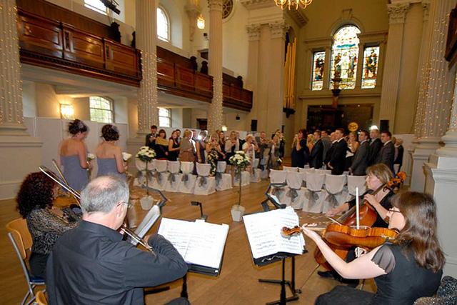 Traditionele bruidsmuziek