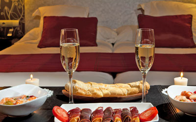 Luxe hotels v.a. € 40 p.p.p.n.